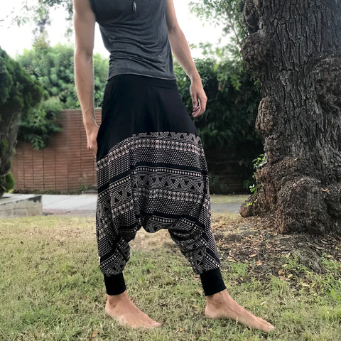 Brown Puma | Unisex Harem Pants