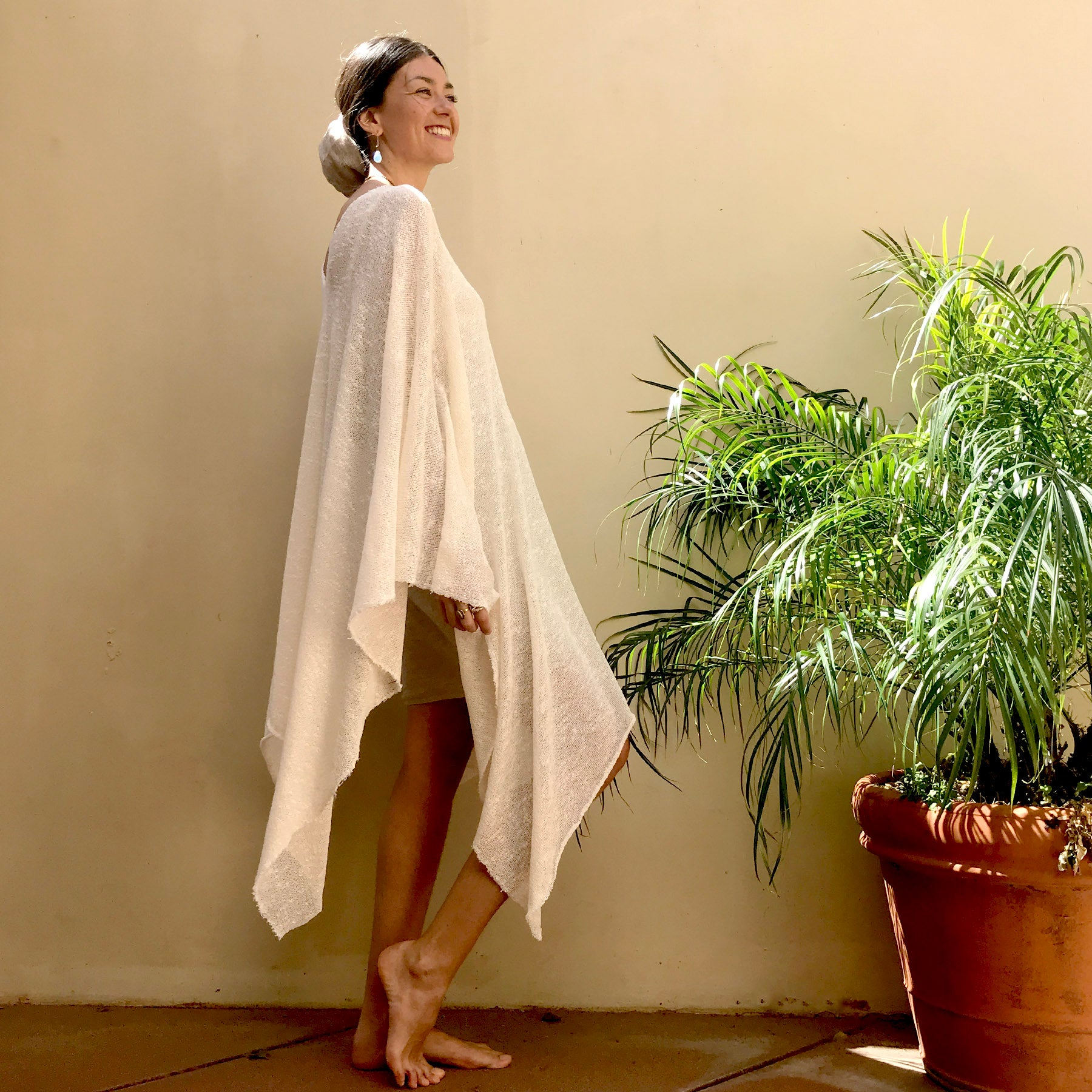 Offwhite Sage | Tunic