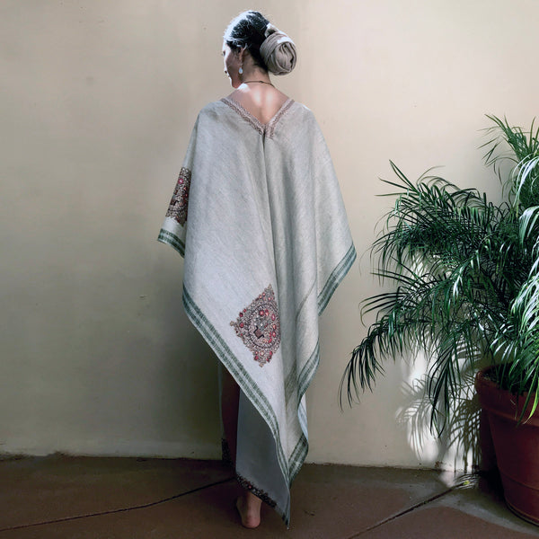 Stillness | Long Poncho