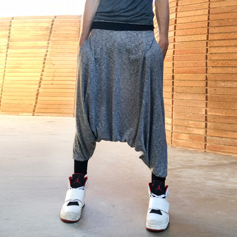 Softest Gray | His Harem Pants