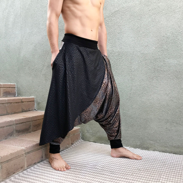 Snake Warrior | Samurai Style Pants | Him
