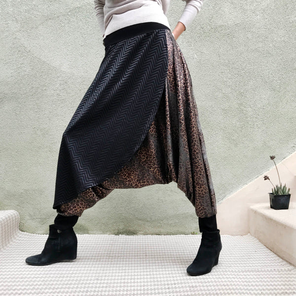 Snake Warrior | Samurai Style Pants | Her