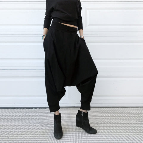 Structure | Black Denim | Unisex Pants