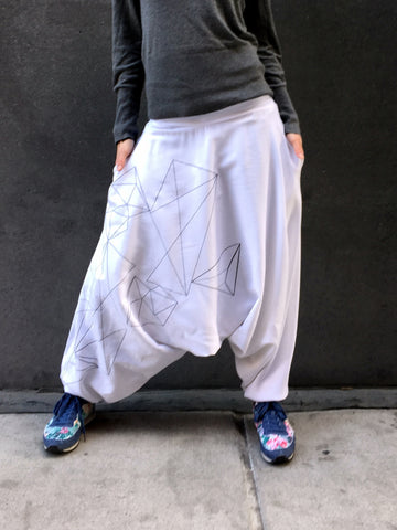 Unisex Glorka Urban Casual Baggy Harem Style Pants