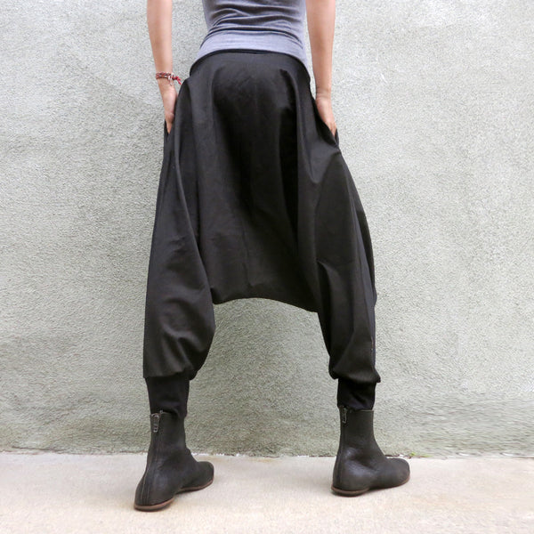 Dark Denim | Dropcrotch Pants