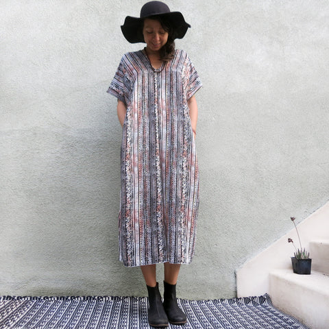 Sunset Grains | Simple Dress