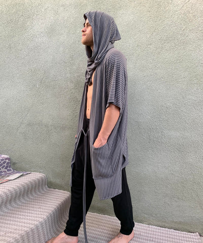 Twilight  | Hooded Kimono Shirt | Him