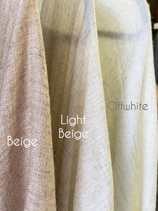Purity | Light Beige Shawl | Him