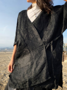 Silk Road | Open Haori Shirt | Her