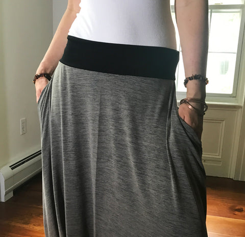 Activated Gray | Unisex Harem Pants