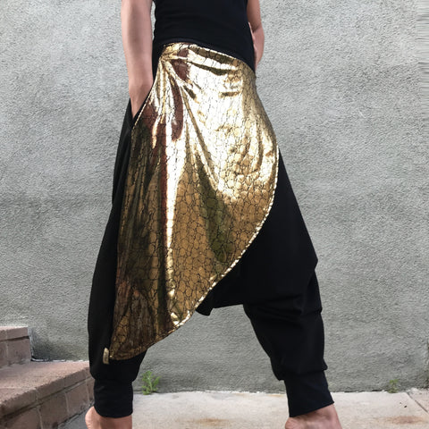Golden Warrior Harem Pants