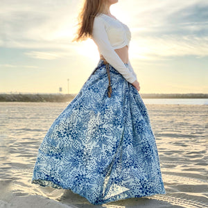 Blue Bloom | Skirt