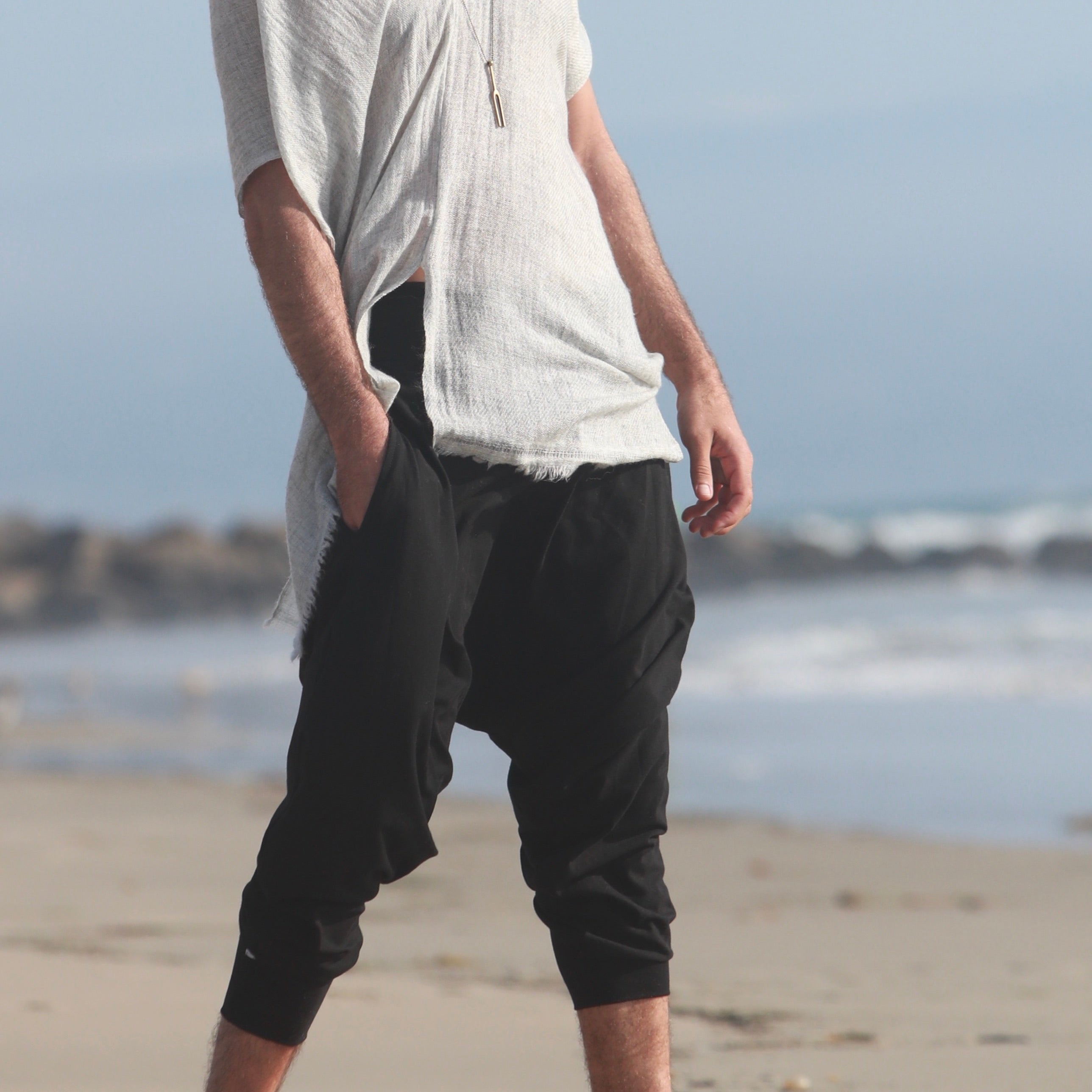 Black | Wander Pant | Him