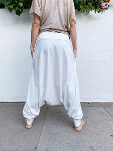 Silver White Balance | Drop Pants | Her