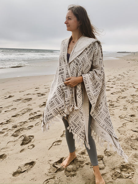 Melody | Hooded Poncho
