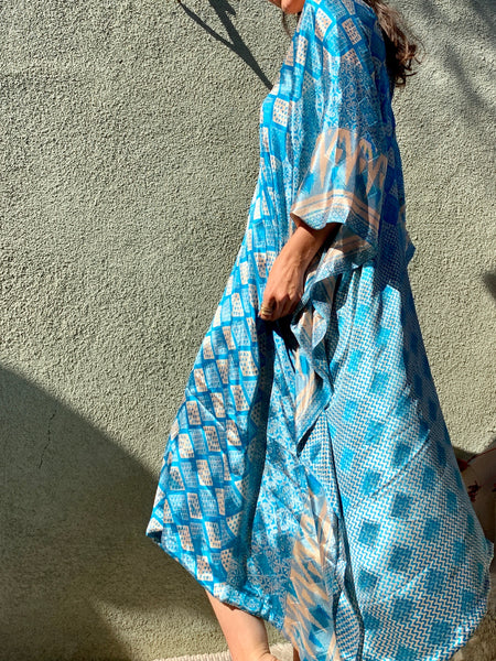 Blue Sky | Caftan Dress