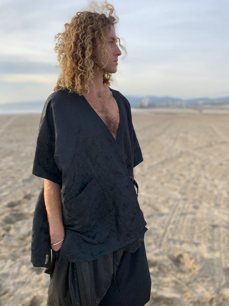 Silk Road | Open Haori Shirt | Him