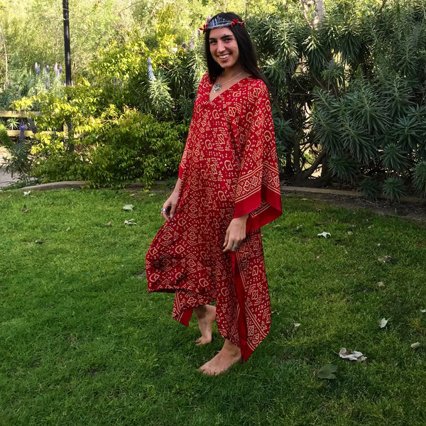 Strawberry Kaftan