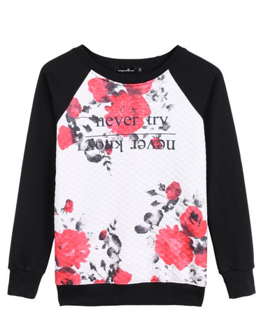Never Try- Never Know Sweatshirt