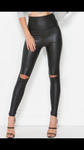 City nights leatherette leggings