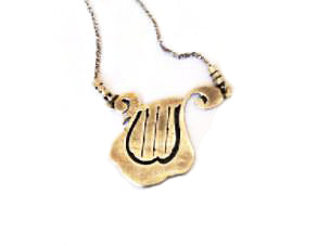 King David's Harp Necklace / #M4