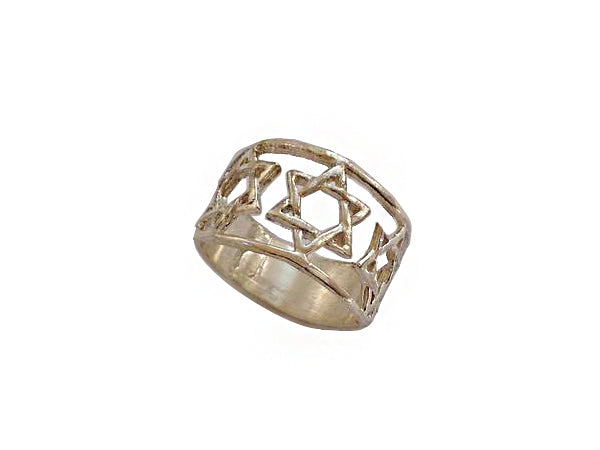 Star of David Ring / #STR