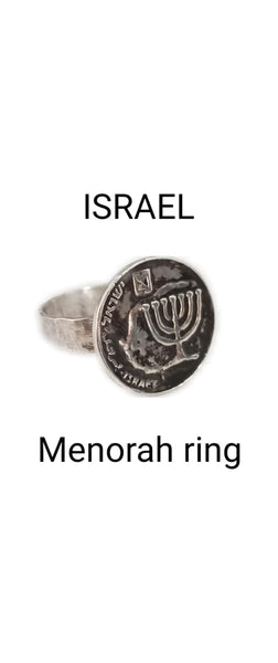 MENORAH RING / MNR670