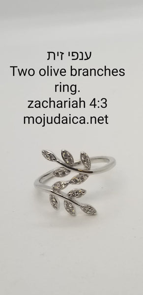Olive Branches Ring / OBR72
