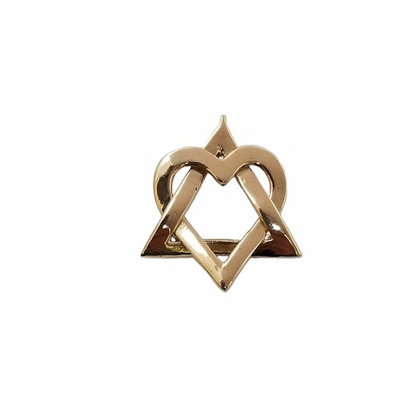 Star of David - Heart of David Pendant / HD300