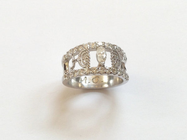 Menorah Ring /#Custom 8