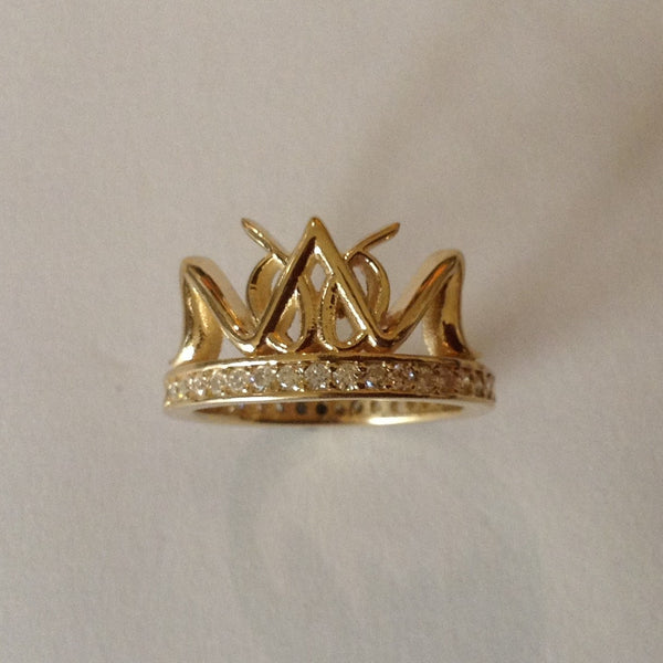 Crown Name Ring /#Custom 10