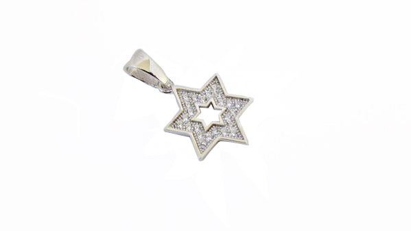 Star of David Pendant (small) / #SDD1