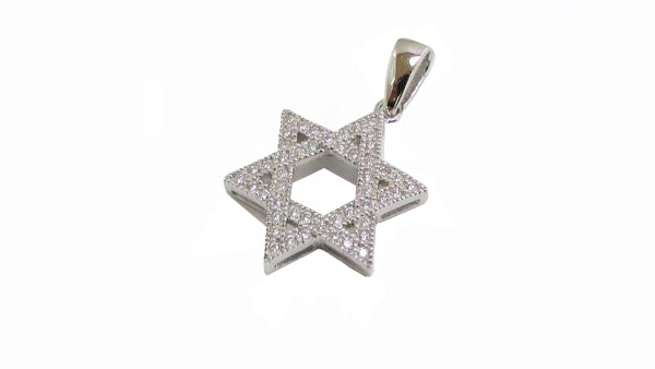 Star of David Pendant / #S15