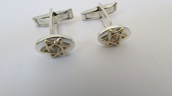 Star of David Cufflinks /#CUFF1