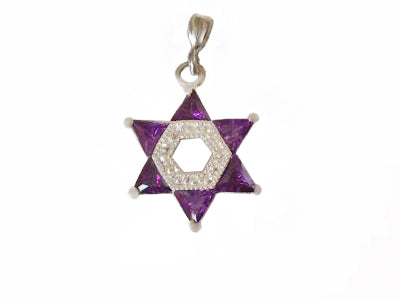 Star of David Pendant / #S29