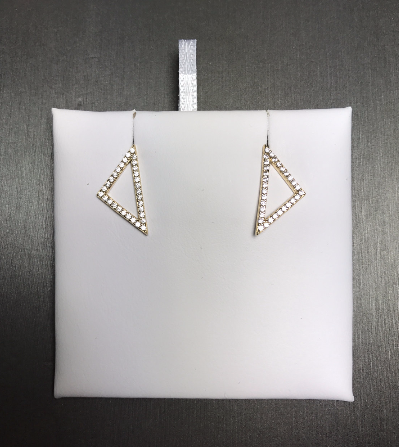 Triangle Studded Earrings