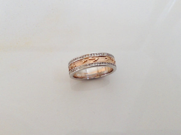 I Am My Beloved's Rose Gold Ring - #RR28