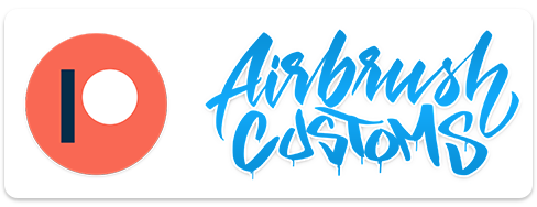 Learn to Airbrush with AirbrushCustoms on Patreon