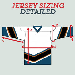Kobe Hockey Jersey Sizing From Canadian Jersey Superstore (Detailed)