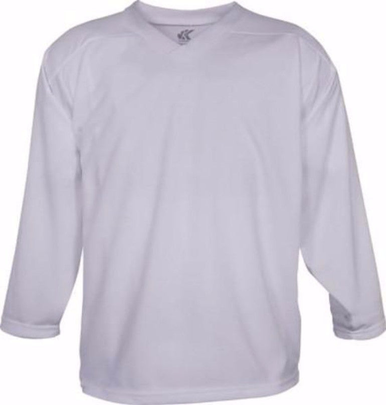 Economical Practice Jersey: White