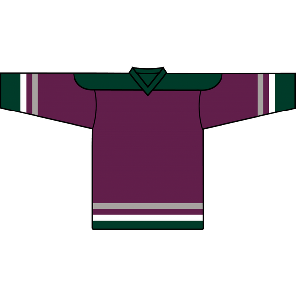 Value Team Jersey: Mighty Ducks of Anaheim 1993 Eggplant - Canadian Jersey Superstore