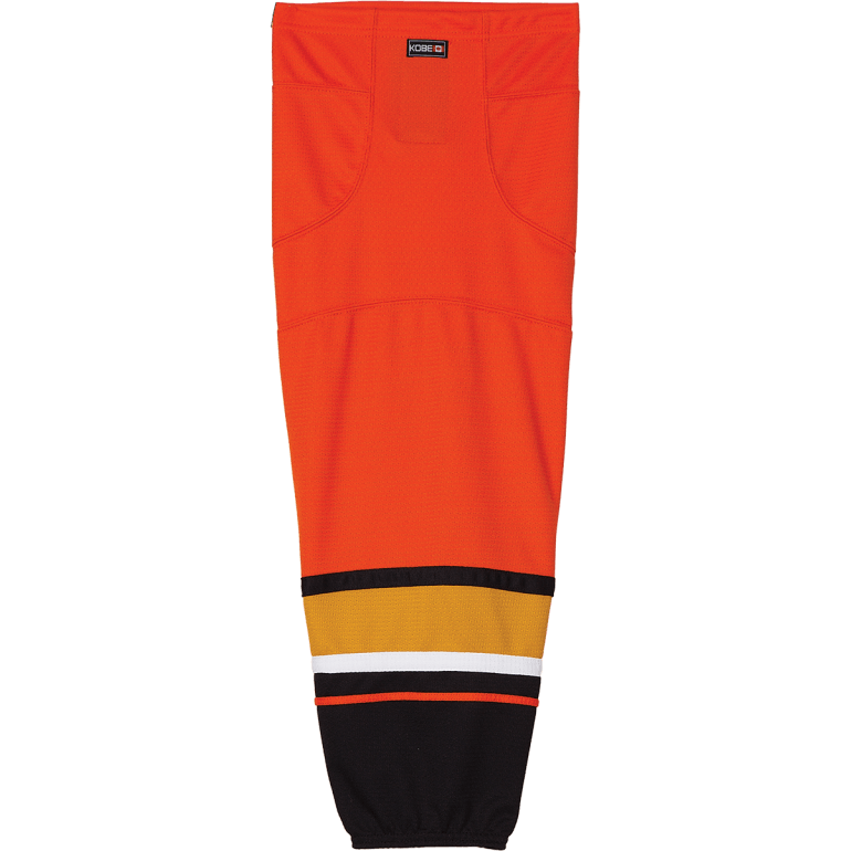 Premium NHL Pattern Socks: Anaheim Ducks Orange - Canadian Jersey Superstore
