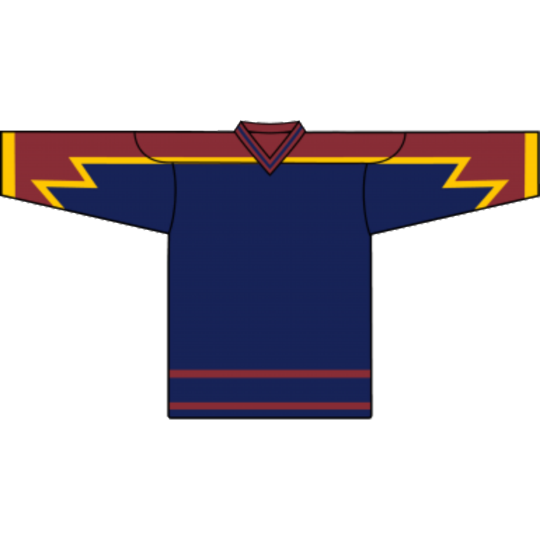 Retro Team Jersey: Atlanta Thrashers 1999 Navy - Canadian Jersey Superstore