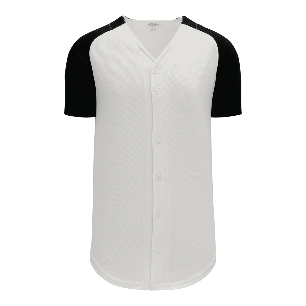 Full Button Baseball Jerseys: Team Patterns 2, Adult Cut