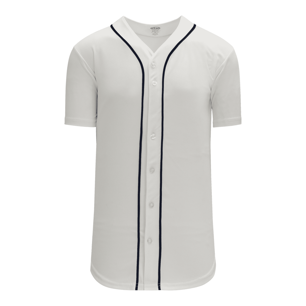 Full Button Baseball Jerseys: Pro Team Patterns, Adult Cut