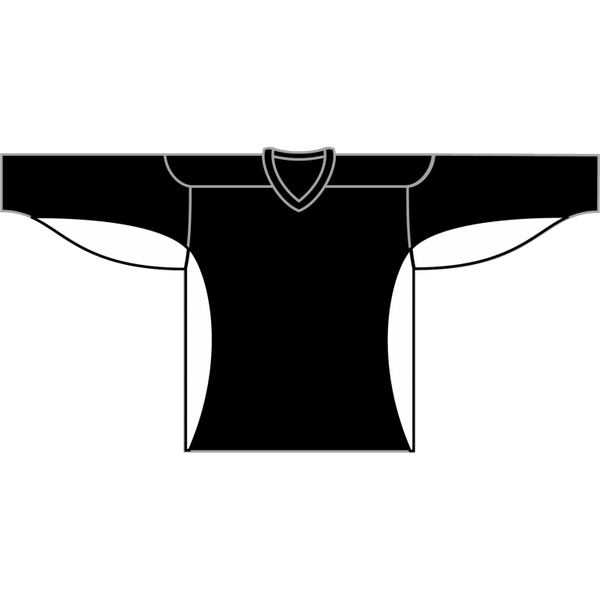 Value Practice Jersey: Black - Canadian Jersey Superstore