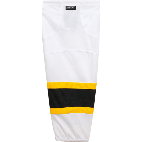 Premium NHL Pattern Socks: Boston Bruins White - Canadian Jersey Superstore