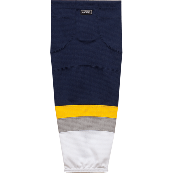 Premium NHL Pattern Socks: Buffalo Sabres 2008-11 White - Canadian Jersey Superstore