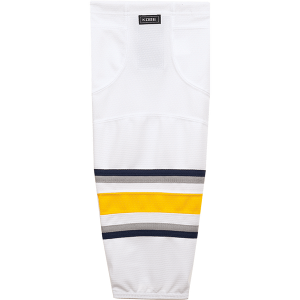 Premium NHL Pattern Socks: Buffalo Sabres White - Canadian Jersey Superstore