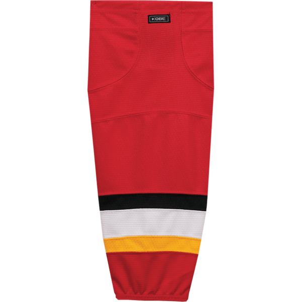 Premium NHL Pattern Socks: Calgary Flames Red - Canadian Jersey Superstore
